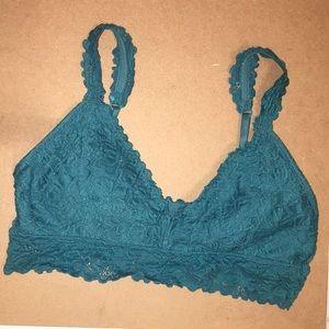 Blue Bralette